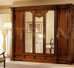Wardrobes Luxury hotel  - REGINA NOCE / 5 doors wardrobe (3 doors central mirror)