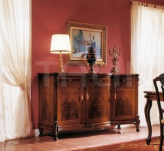 Classic style living room furniture Reception  - ROYAL NOCE / Sideboard with 3 doors