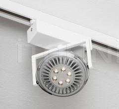 Diapson COINLIGHT LED semi-recessed 1 light