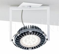 Diapson Hit Semi-recessed 1 light wall/ceiling lamp