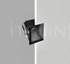 Minigamma 45° recessed LED lamp