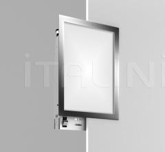 Runner frameless recessed light quadro fluo