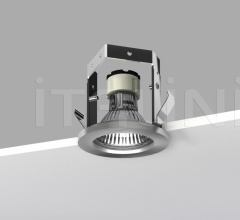 Teseo suspension with frosted glass