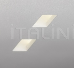 Ulisse G ceiling lamp with frosted glass