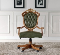 Luxury classic chairs, Art. 3347: Office armchair