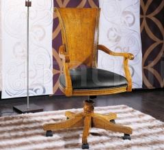 Luxury classic chairs, Art. 3204: Office armchair