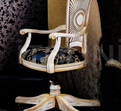 Luxury classic chairs, Art. 3202: Office armchair