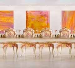 Luxury classic chairs, Art. 3317: Table, Table