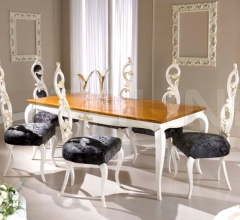 Luxury classic chairs, Art. 3295: Table, Extensible table