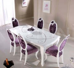 Luxury classic chairs, Art. 3297: Table