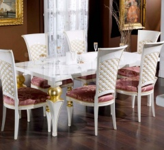 Luxury classic chairs, Art. 3272: Table