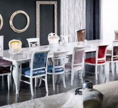 Luxury classic chairs, Art. 3281: Table
