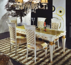 Luxury classic chairs, Art. 3194: Table, Extensible table