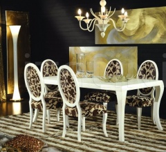 Luxury classic chairs, Art. 3211: Table