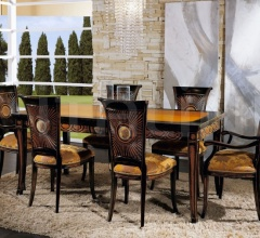 Luxury classic chairs, Art. 3192: Table, Extensible table