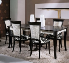 Luxury classic chairs, Art. 3062: Table, Extensible table
