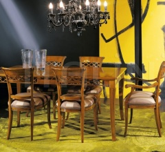 Luxury classic chairs, Art. 3091: Table, Extensible table