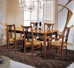 Luxury classic chairs, Art. 3063: Table, Extensible table