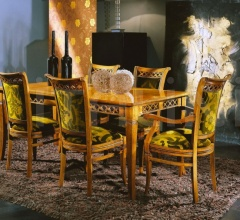 Luxury classic chairs, Art. 3048: Table, Extensible table