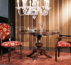 Luxury classic chairs, Art. 3008: Extensible table