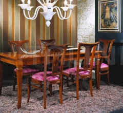 Luxury classic chairs, Art. 3024: Table, Extensible table