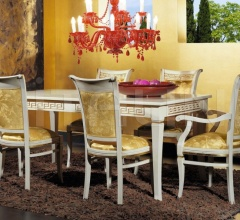 Luxury classic chairs, Art. 3047: Table, Extensible table