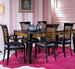 Luxury classic chairs, Art. 3003: Table, Extensible table