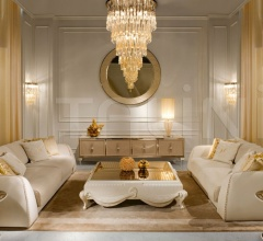 Диван CELINE.2400/GOLD фабрика Cornelio Cappellini