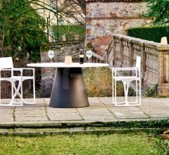 Уличный стул La Regista фабрика Serralunga