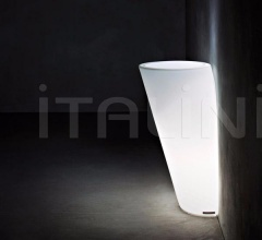 Кашпо с подсветкой Pot Au Mur фабрика Serralunga