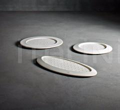 Блюдо Disco/ Ellisse Volante фабрика Serralunga