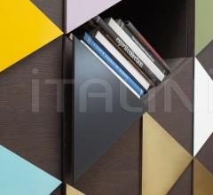 Книжный шкаф ARLEQUIN C фабрика Emmemobili