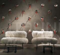 Итальянские кресла - Кресло NEPAL MAMA фабрика Baxter