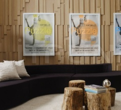 Итальянские декоративные панели - Панель из массива дуба MODULAR фабрика Emmemobili