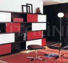 Книжный шкаф SAMI фабрика Emmemobili