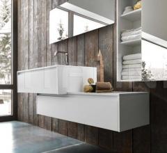 Комплект мебели для ванной Floating фабрика Pedini