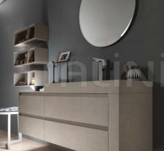 Комплект мебели для ванной Materiality фабрика Pedini
