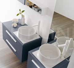 Комплект мебели для ванной FLY 117 фабрика Milldue