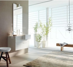 Комплект мебели для ванной FLY 125 фабрика Milldue