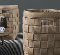 Итальянские аксессуары для интерьера - Набор декоративных корзин HUB фабрика Calligaris