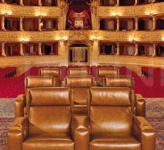Итальянские кресла для домашнего кинотеатра - Кресло HOLLYWOOD фабрика Mascheroni