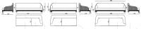 Модульный диван Chatam IPE Cavalli (Visionnaire)