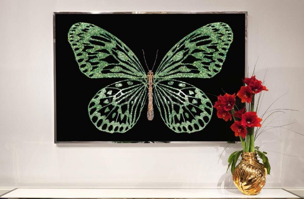 Интерьерная миниатюра Green Butterfly IPE Cavalli (Visionnaire)