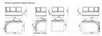 Модульный диван Shino IPE Cavalli (Visionnaire)
