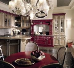Кухня Red rose фабрика Martini Mobili