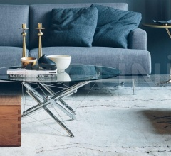 Итальянские столы обеденные - Стол обеденный 713/714 фабрика Cassina