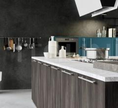 Кухня ONE_K_HANDLE_1 фабрика Siloma