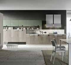 Кухня ONE_K_HANDLE_4 фабрика Siloma