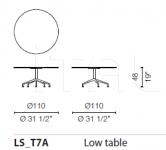 Кофейный столик Lotus Table 2 Cappellini