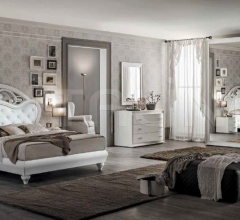 Итальянские кровати - Кровать LMB115/LMB116 фабрика Santarossa